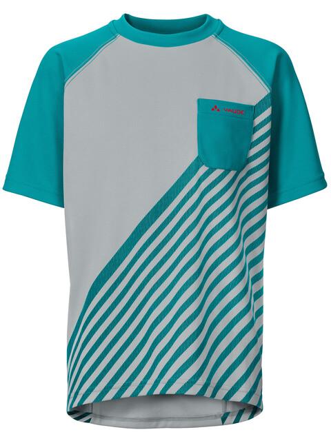 VAUDE Grody III maglietta a maniche corte Bambino grigio/petrolio